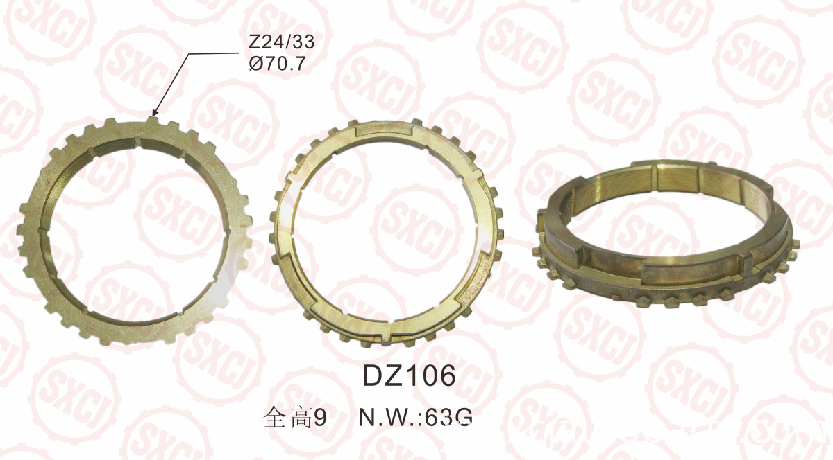 High Speed Connect Tooth Ring