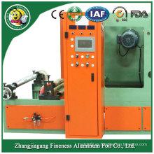 Rebobinadora de papel elástico de aluminio de la mejor venta de precio inferior