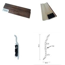 Alta qualidade melhor preço PVC placas de rodapé para revestimento de bambu