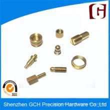 Precisión de latón bronce CNC piezas de mecanizado y piezas de metal