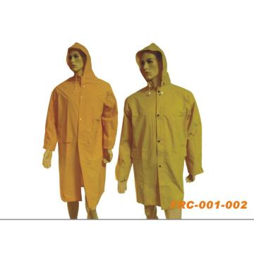 Regenmantel aus PVC / Polyester