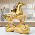 Resin Craft, Resin Horse for Office Decoration