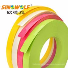 Fita adesiva de borda de PVC de alto brilho para gabinete