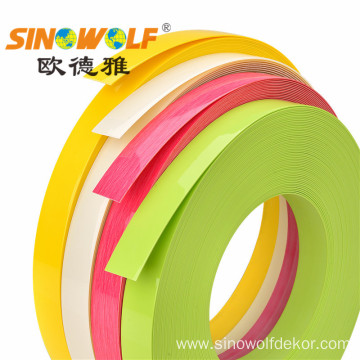 High Gloss PVC Edge Banding Tape For Cabinet