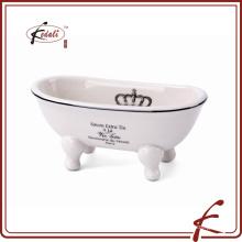 Jabonera de cerámica