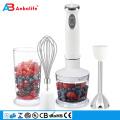 mini-fruits portables à piles de cuisine vivante agitateur de bouteille en acier inoxydable / bocal en verre mélangeur à vide humide et sec