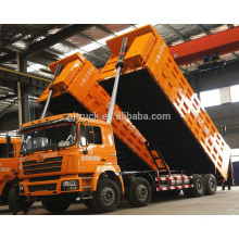 6X4 unidad Shacman 336hp 6 * 4 de frente inclinando camión volquete / camión de volteo / camión volquete / camión de carga pesada