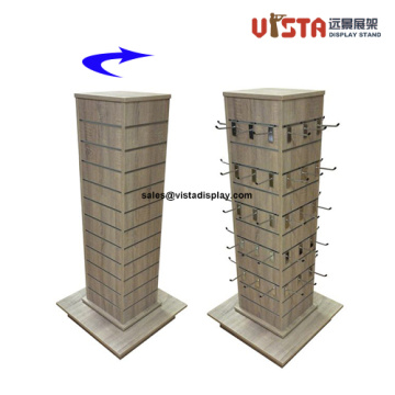 MDF+Wooden+Display+Stands+with+Hooks