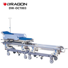New Design DW-CT003 CE&ISO Approved High Quality Connecting Stretcher Medical Trolley