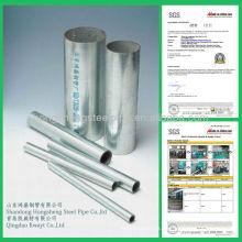 Tubo de acero HDG
