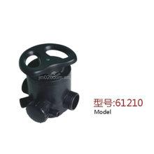 Válvula Manual Multi Válvula Runxin F64D1 para Descalcificador de Água