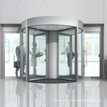 induction rotation Four-wing revolving door for hotel