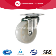 1 '' Light Duty Swivel White PP Industrial Caster