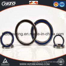 China fabricante Thin pared / Cross Thin sección rodamiento de bolas (618 series)