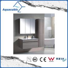 Combinaison de toilette pour salle de bain en finition chocolat (ACF8932)