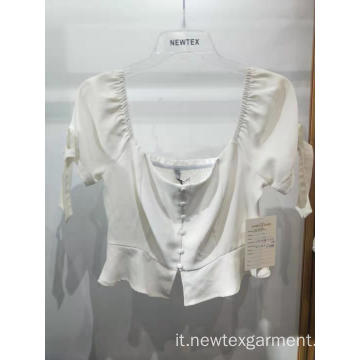 Top in poliestere da donna in vendita