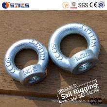 Acier au carbone DIN582 galvanisé Chine Eye Nut Fabricant