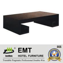 Estilo chino de diseño moderno rectángulo de estilo de mesa de café largo (emt-CT03)
