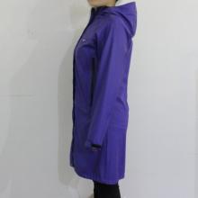 Royalblue Hooded Waterproof PU Raincoat