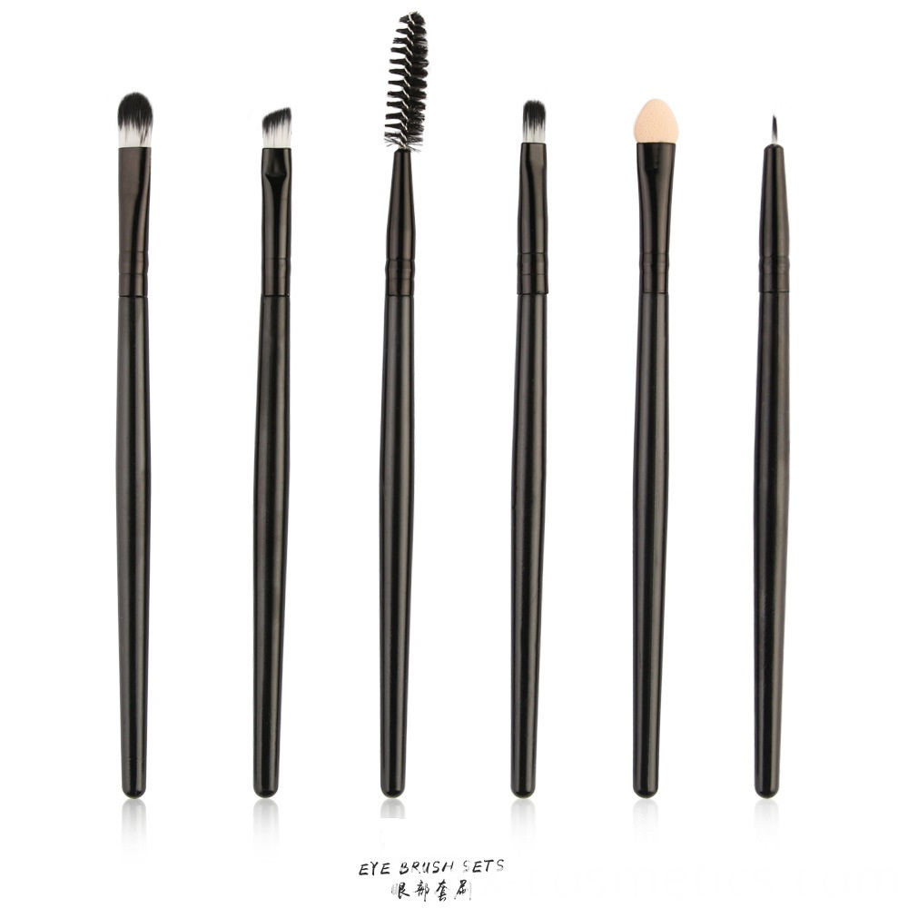 6 Piece Eye Makeup Brushes Set 5