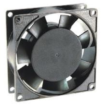 230V 80*80*25mm Aluminium Die-Cast Ec Fans Ec8025