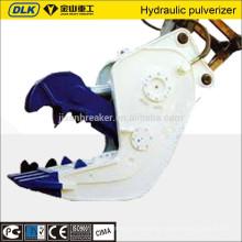 Hydraulikschere, Brecher und Pulverisierer des Baggers für Gebäudeabbruch