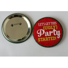 Значок оловянной партии с логотипом печати