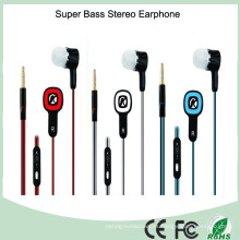 Auriculares estéreo coloridos del auricular del diseño 3.5mm MP3