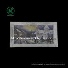 Одностенная цветная стеклянная пластина от SGS (KLP120912-18)