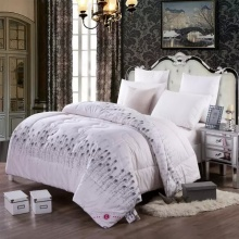 Microfibre Polyester Soft Solid Printed Comforter Set