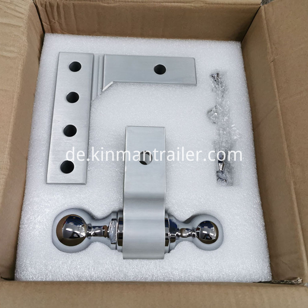2 trailer hitch ball mount Packing