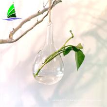 стеклянная ваза из дутого гидропоника стеклянная террариум ваза оптом