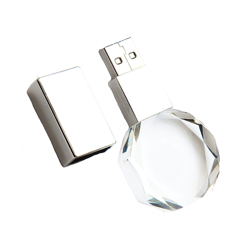 Crystal Shiny Usb Flash Drive