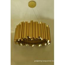Modern Gold Aluminium Pendant Lamp (1177S3)