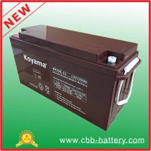 Batería AGM Long Life 12V 150ah AGM para sistema de luz solar