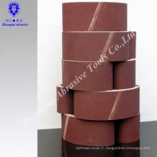 bande abrasive étroite d'oxyde d'aluminium de zircone pour l'acier inoxydable