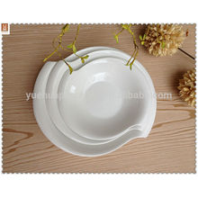 Cheap wholesale dishes plates set for restaurant