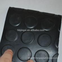 Round coin anti-slip rubber mat