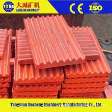 High Manganese Wear Part Crusher Teeth Jaw Plate