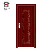 Puerta de madera de desplazamiento interior del pvc del más nuevo estilo de la buena calidad con diseño italiano de China