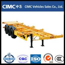 Cimc 3 Axle 40FT Скелетный полуприцеп
