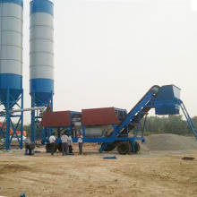 Large scale water stabilization mixing station equipment