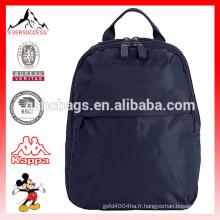 Personnaliser le sac à dos blanc de couleur de sac à dos vide pas de toile