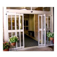 Deper DBS50 main entrance automatic glass telescopic sliding doors