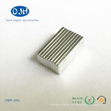 Block-Magnete verwendet in Handtasche, Industriegebiet und Elektrische Produkte