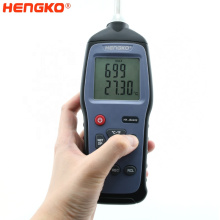 Portable Temperature and Humidity Data Logger with Dew Point and Wet Bulb Support for Agricultural Industry