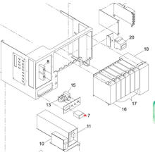 Medidor Panasonic SMT para la impresora de pantalla Sp60p-M (KXFP5C9AA00)