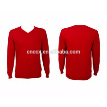 15PKSW07 v neck man knit sweater in winter