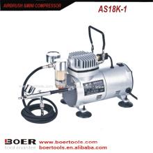 Airbrush Compressor Kit tragbarer Minikompressor