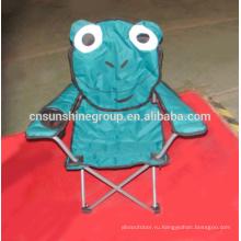 Разборный дети кемпинга стул, животных стулья с подлокотниками
